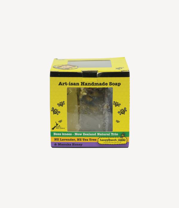 Artisan soap manuka honey with tea tree honey bunch naturals